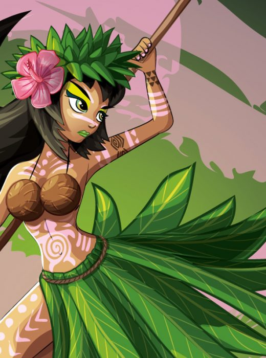 art_asset_hula_girl_with_paddle_sketch_0083