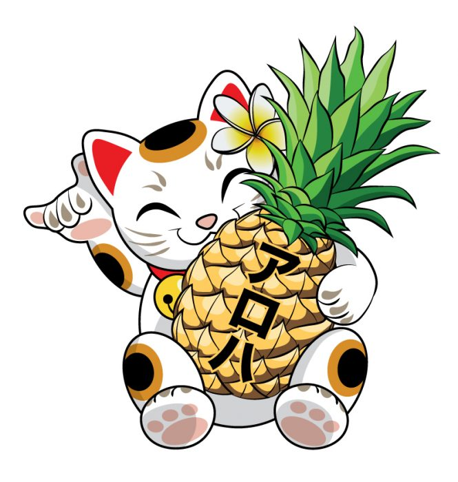 art_asset_maneki_neko_holding_pineapple_002
